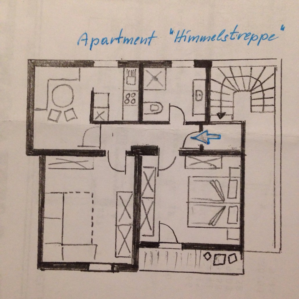 Apartment Himmelstreppe Plan